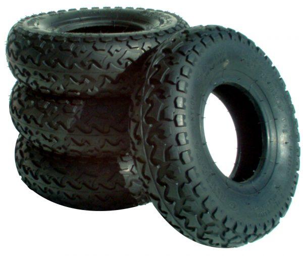 MBS T2 Tires Black