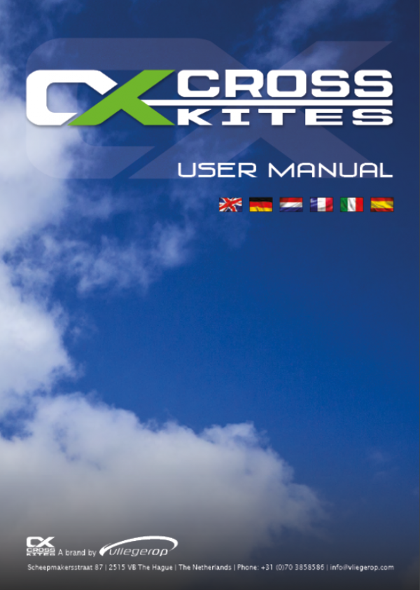 cross kites air manualManual