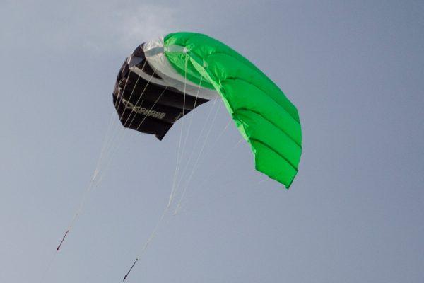 Cross kite boarder picture 1
