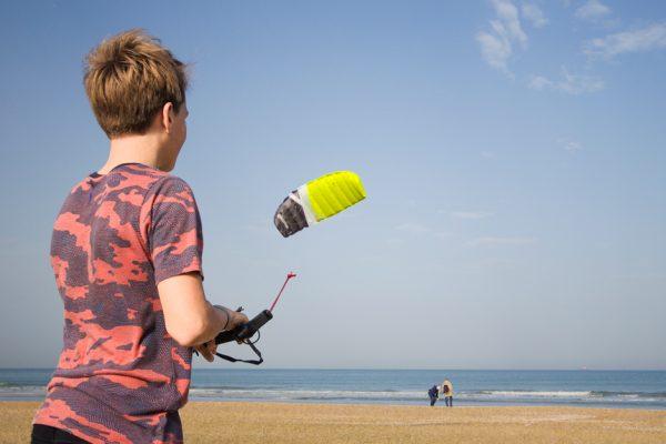 Cross kite boarder picture 4