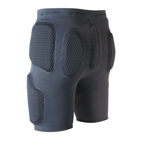 Forcefield Action Shorts back grey