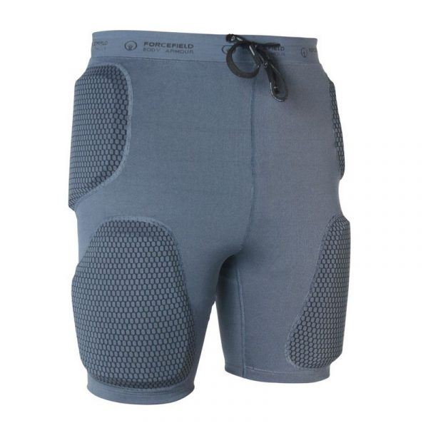 Forcefield Action Shorts front grey