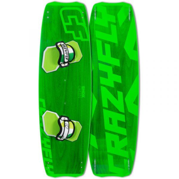 crazy fly shox green board