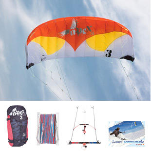 hq apex 3 kite package
