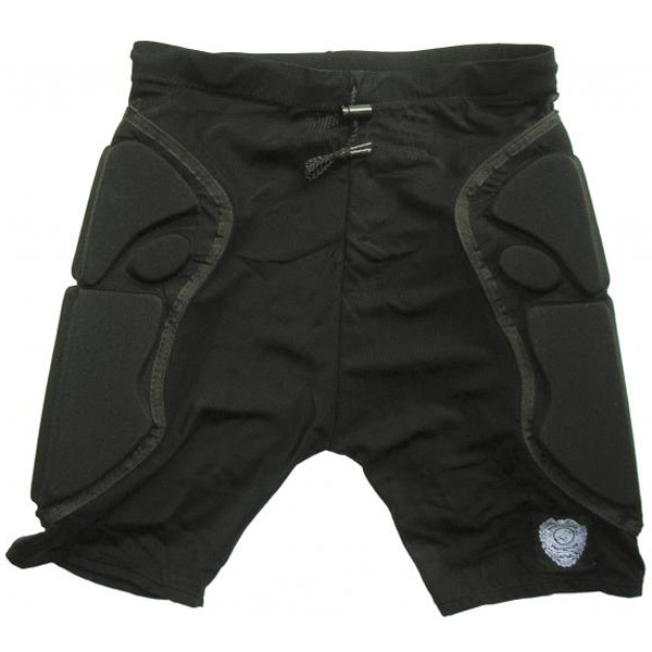 scrub padded shorts